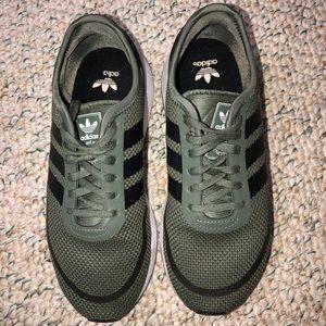 Dark Green Adidas Sneakers